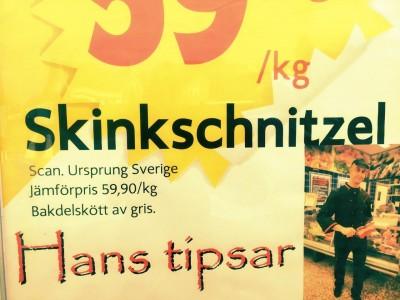 Wenn das Hans Tipsar wüsste...