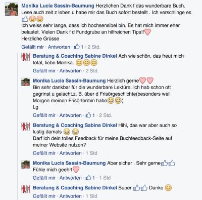 Sabine-Dinkel-HSP-Feedback