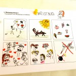 Workshop-Comic von Christina