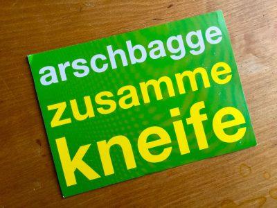 Arschbagge1